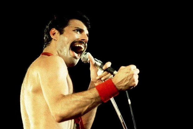 Freddie Mercury of Queen © Paul Natkin/WireImage