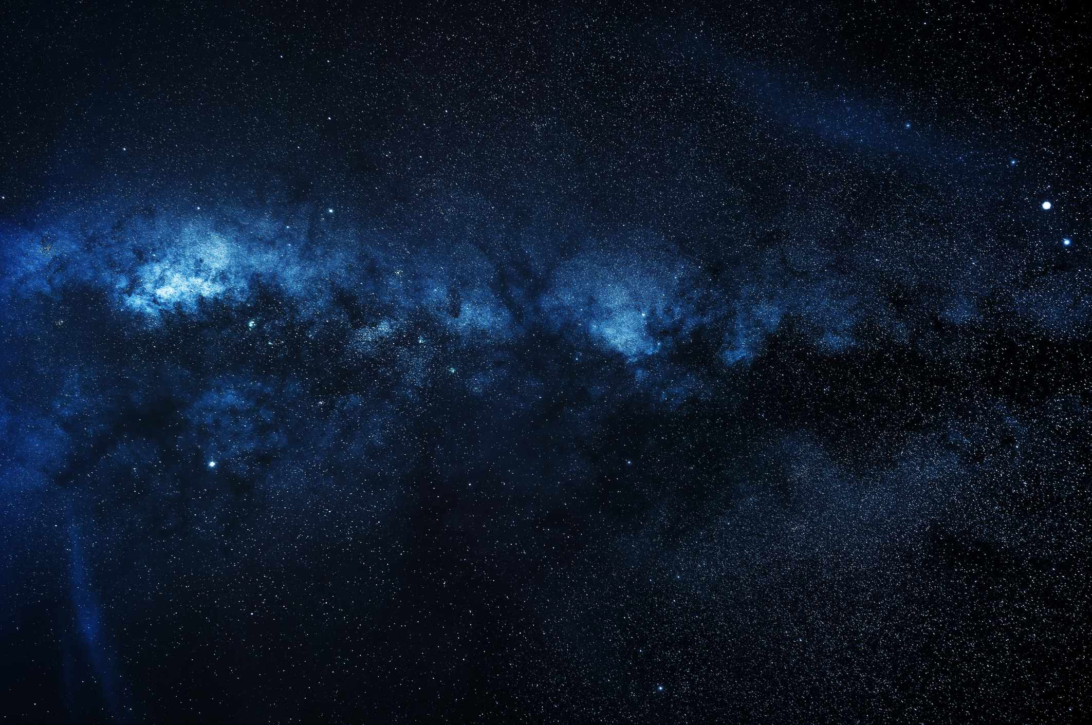 Without all the empty space, how big would the Universe be? © Getty Images
