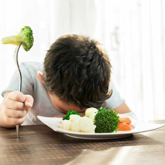 Why do children dislike vegetables? © Getty Images
