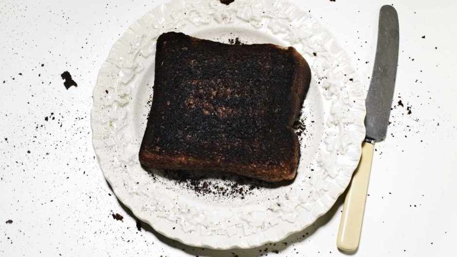 Can eating burnt toast cause cancer? © Getty Images