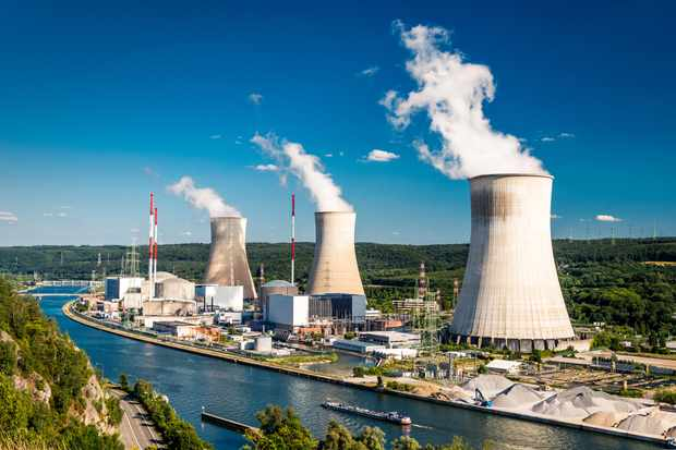 What would happen to a nuclear power station if there was no water? © Getty Images