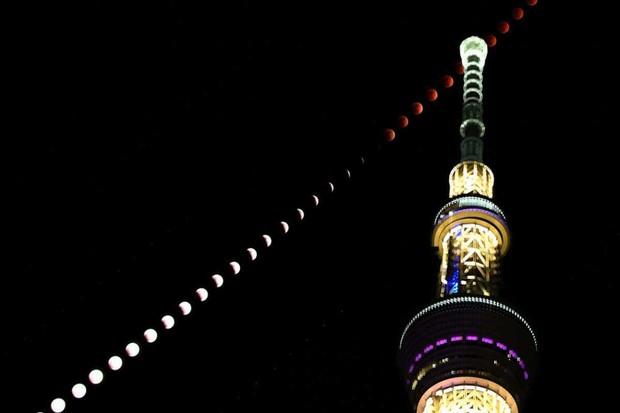 Tokyo, Japan © The Asahi Shimbun via Getty Images