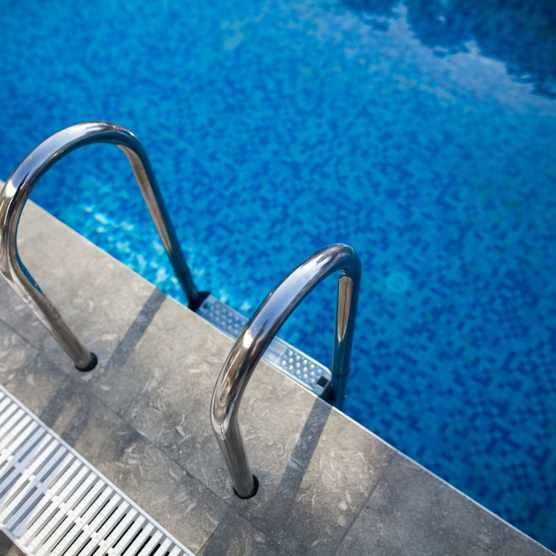 What proportion of swimming pool water is wee? © Getty Images