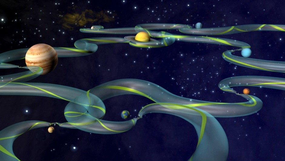 What is the Interplanetary Superhighway? © NASA