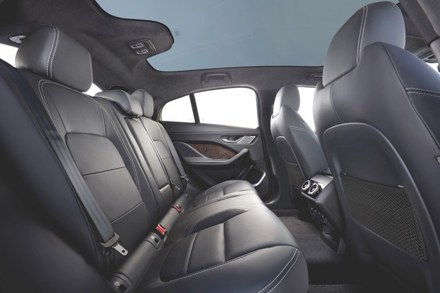 There's plenty of room in the back to accommodate passengers in typical Jaguar luxury © Jaguar Land Rover/Newspress