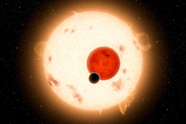 Kepler-16b (© NASA)