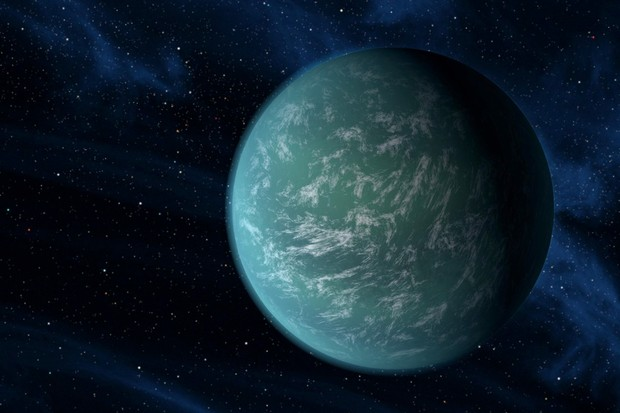 Kepler-22b (© NASA/Ames/JPL-Caltech)