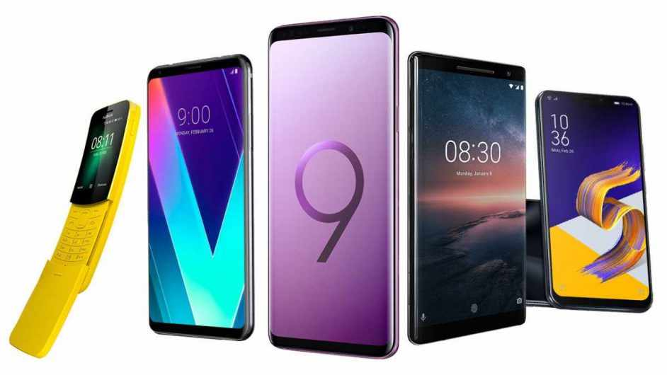 eight of the smartest looking new phones from mwc 2018 science