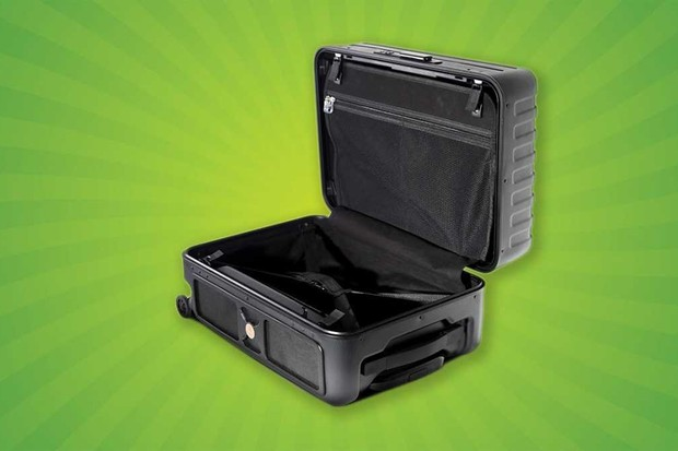 Nomadic Bluetooth speaker and suitcase