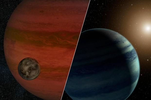 Exomoons (© NASA/JPL-Caltech)