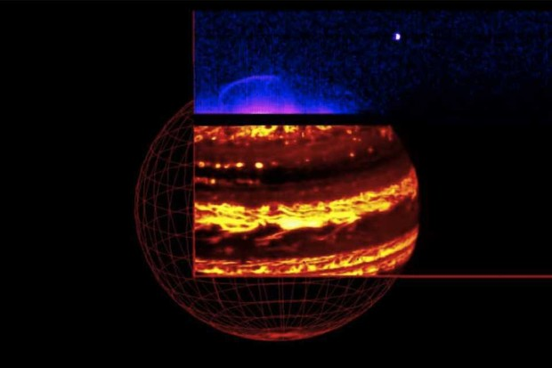 Jupiter in infrared © NASA/JPL-Caltech/SwRI/ASI/INAF/JIRAM