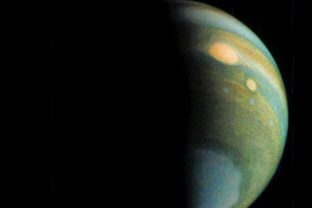 Jupiter in false colour © NASA/JPL-Caltech/SwRI/MSSS/Gerald Eichstaedt