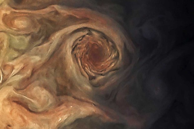 Jovian storm © NASA/JPL-Caltech/SwRI/MSSS/Jason Major