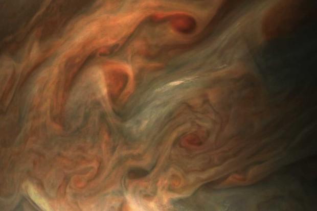 View over Jupiter © NASA/JPL-Caltech/SwRI/MSSS/Gerald Eichstadt