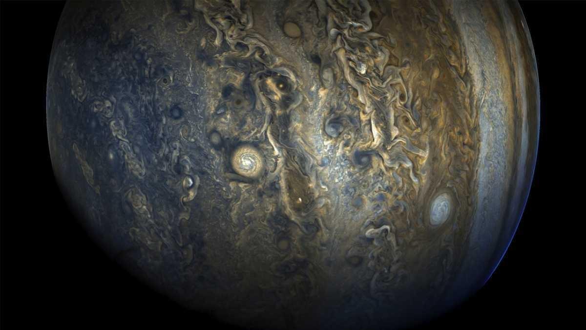 Jupiter's southern hemisphere © NASA/JPL-Caltech/SwRI/MSSS
