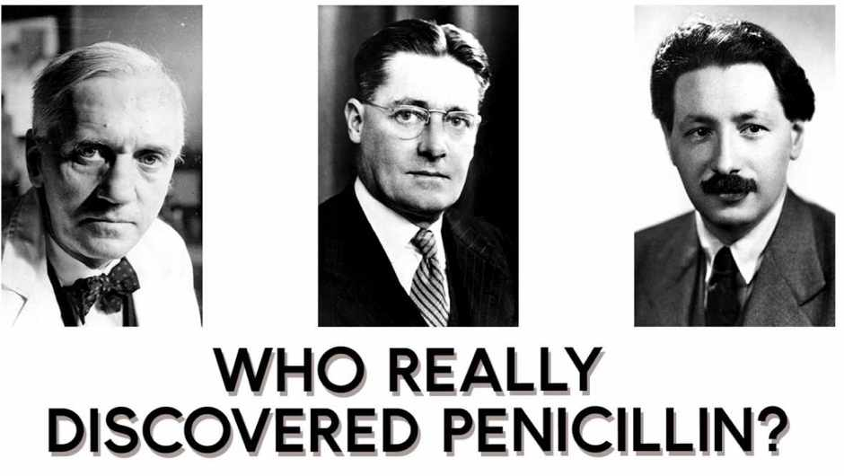 Who really discovered penicillin?