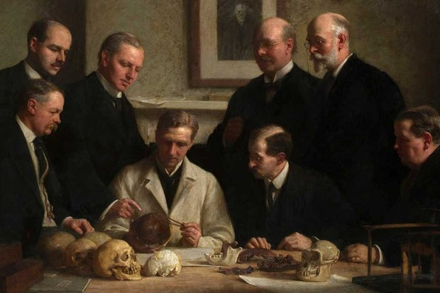 Solving the Piltdown Man crime: how we worked out there was only one forger By John Cooke [Public domain], via Wikimedia Commons