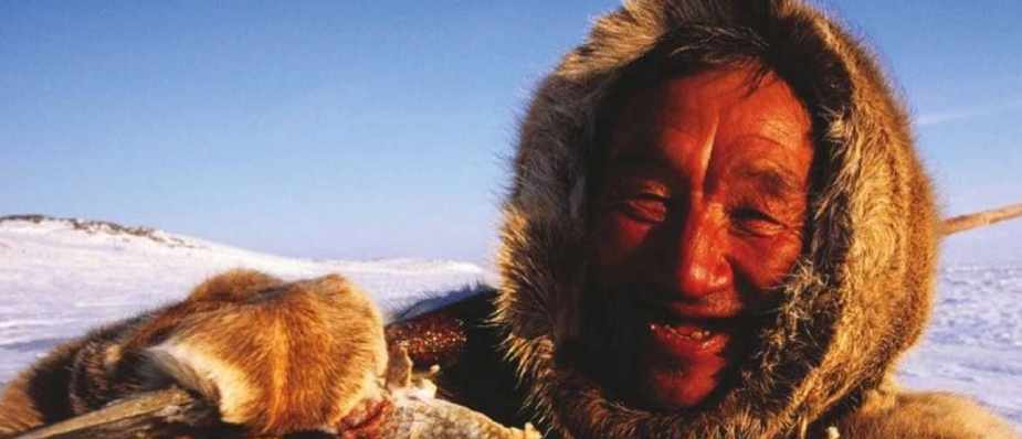 How do Inuits get their five-a-day?