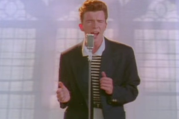Rick Astley - Never Gonna Give You Up (YouTube/Official Rick Astley)