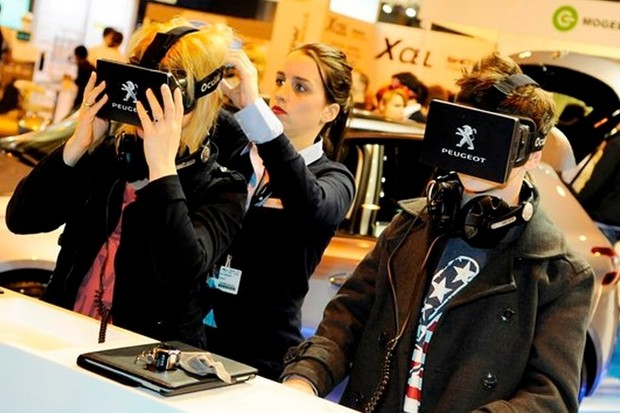 Virtual reality will fill the show floor this year.