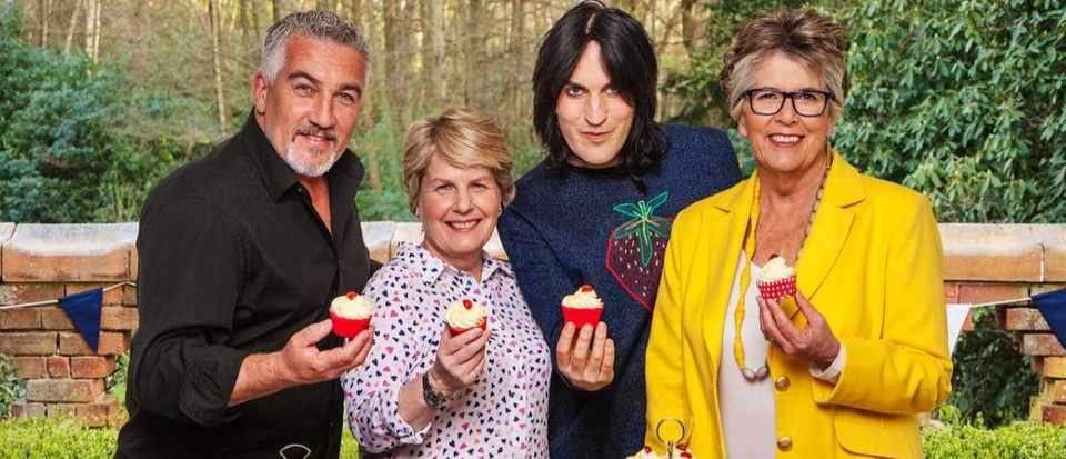 Paul Hollywood, Sandi Toksvig, Noel Fielding, Prue Leith © Love Productions / Channel 4 / Mark Bourdillon