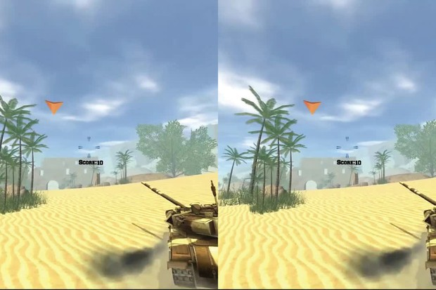 VR Tank Training