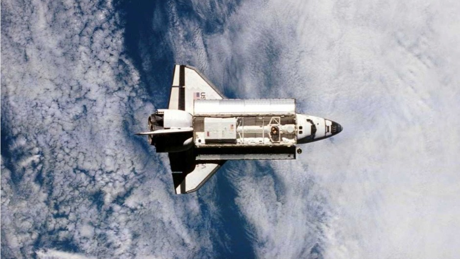 How did the Shuttle move in space when there's no air to create lift?