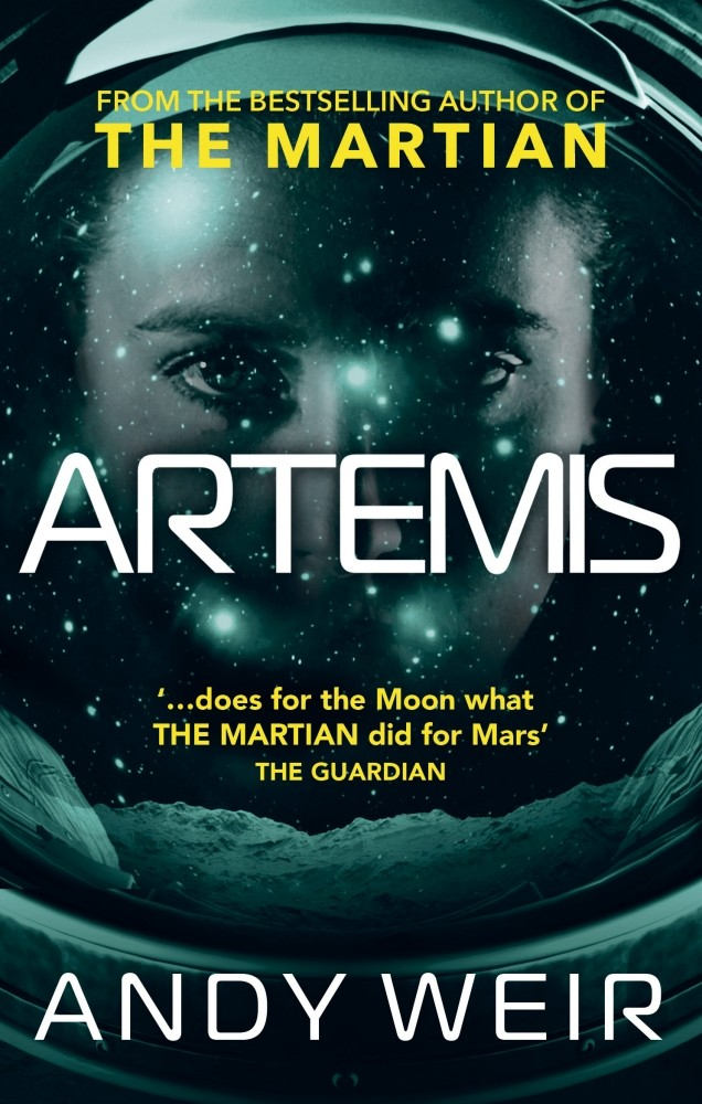 Artemis by Andy Weir is out now (£12.99 hardback or £7.99 ebook, Ebury)