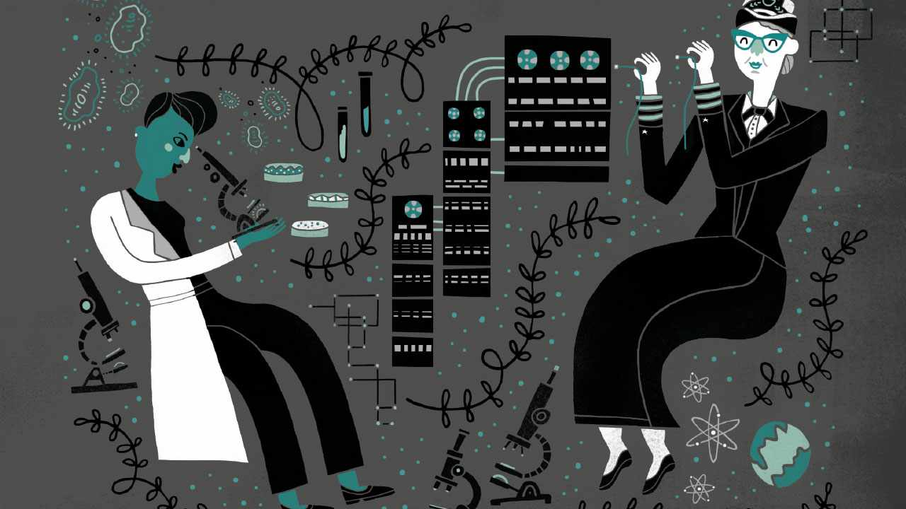 Women in Science: 50 fearless pioneers who changed the worldby Rachel Ignotofsky is available now (£12.99, Wren & Rook)