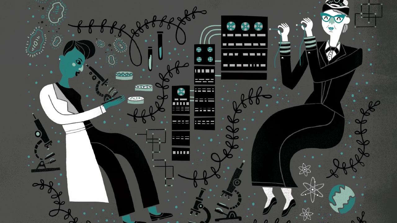 Women in Science: 50 fearless pioneers who changed the world by Rachel Ignotofsky is available now (£12.99, Wren & Rook)