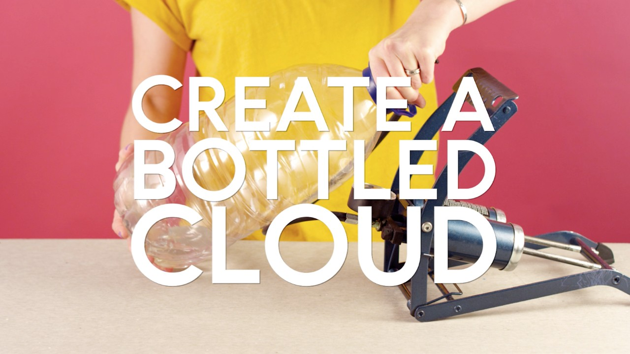 Create a cloud bottle