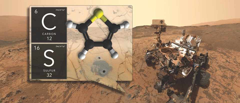 Nasa Finds Complex Organic Matter In Martian Rock Bbc Science