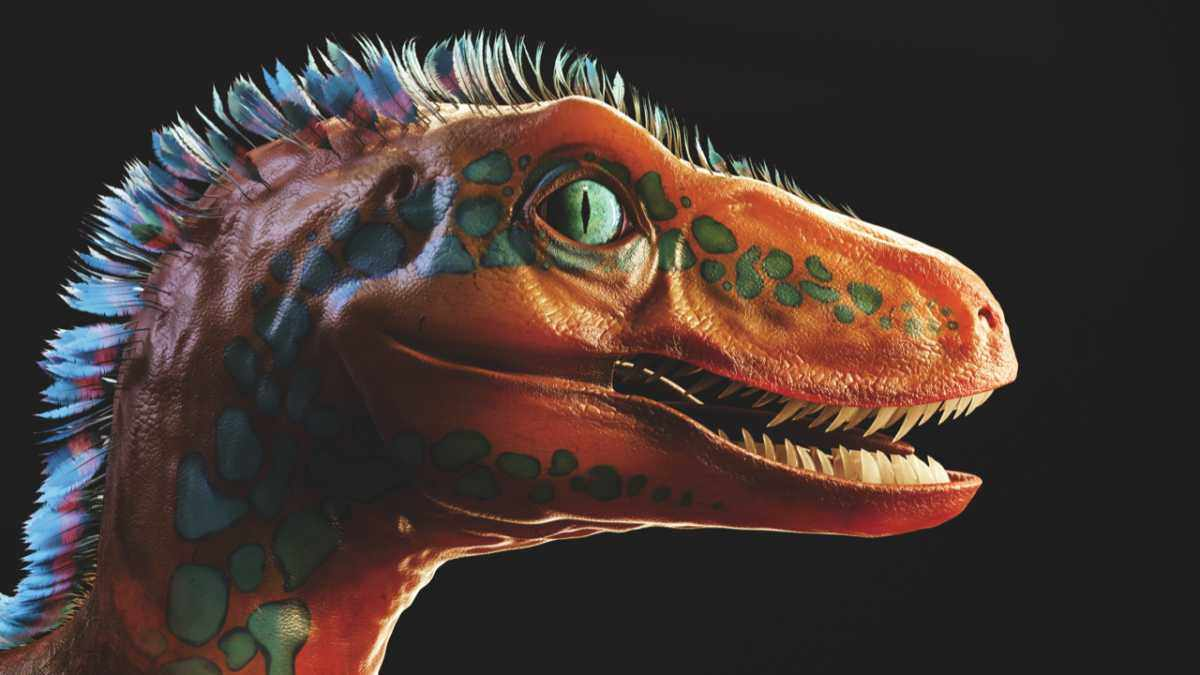 Inside the mind of a dinosaur © Magic torch