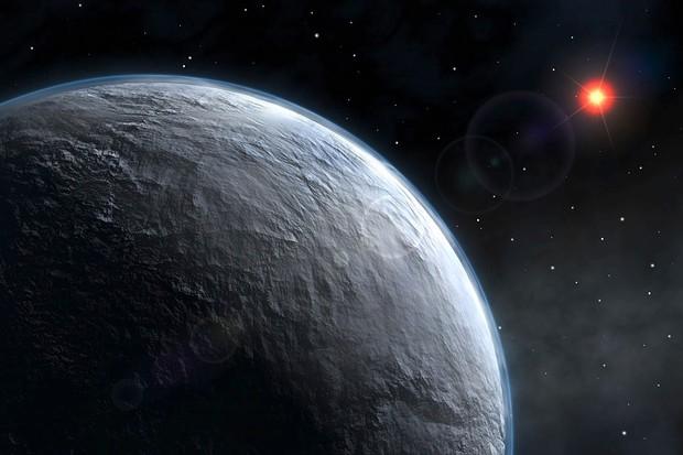 OGLE-2005-BLG-390Lb (© ESO)