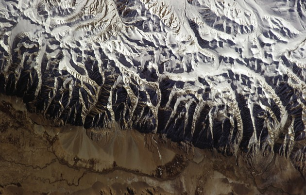 The Tibet Autonomous Region in China, as seen from the ISS