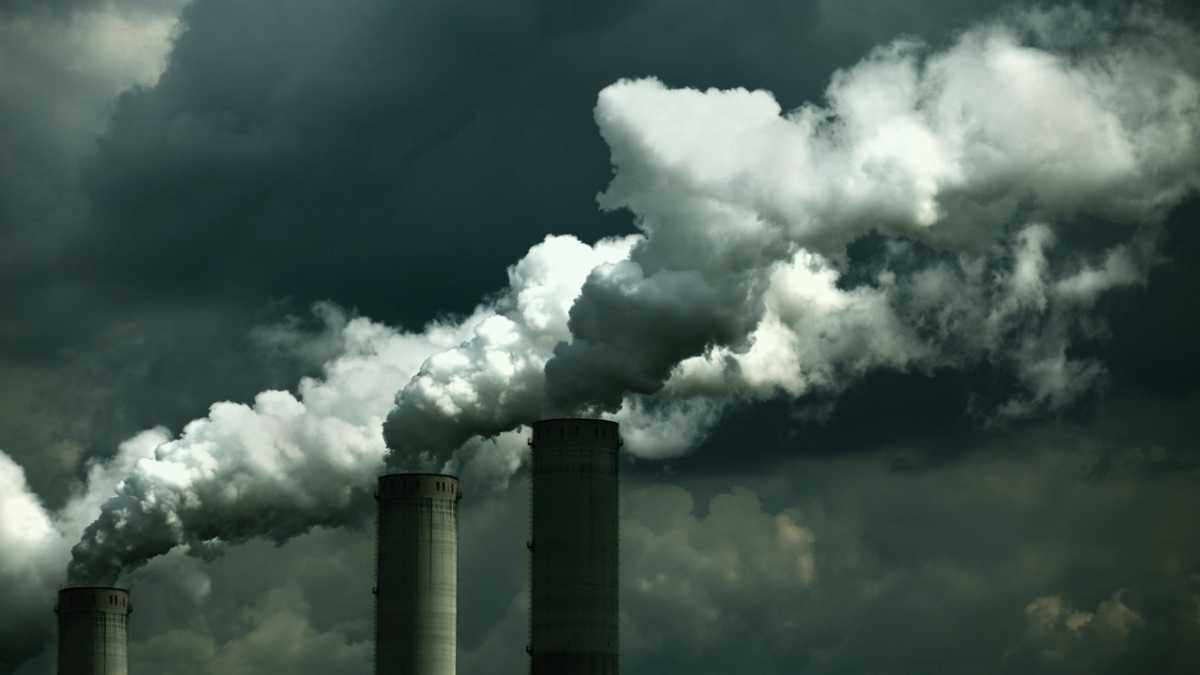 How much pollution is caused by waste from energy companies? © iStock
