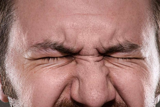 Why do our faces contort when we're in pain? © iStock
