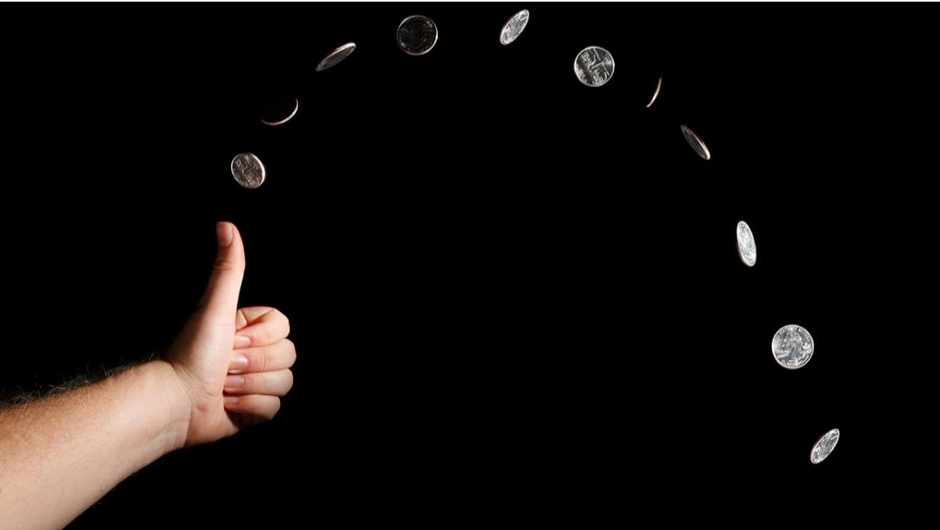 Are coin tosses really random? © iStock