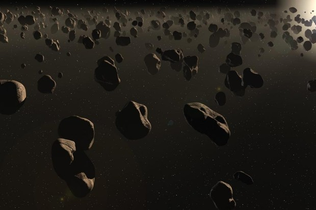 How do spacecraft avoid asteroids and meteoroids? © iStock