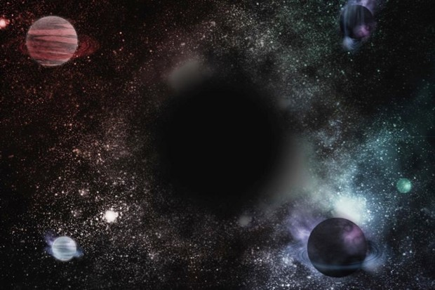 Is it possible for a planet to be in orbit around a black hole? © iStock