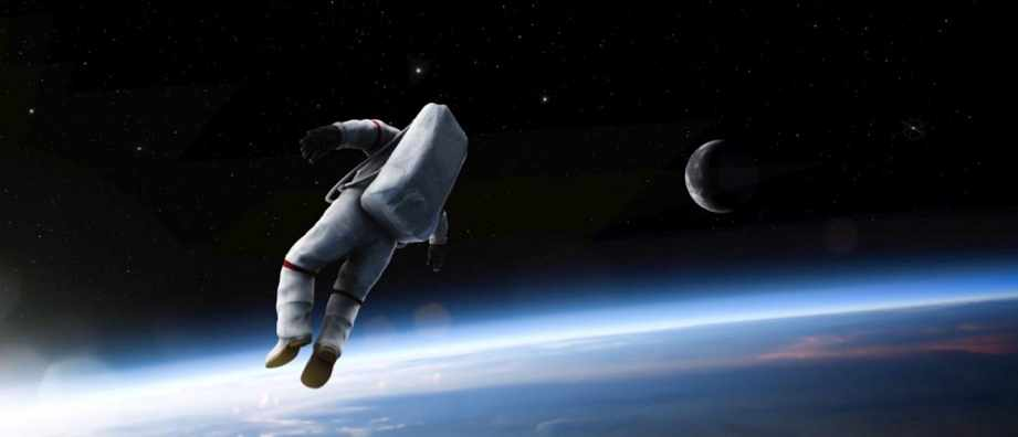 astronaut untethered space walk - photo #17