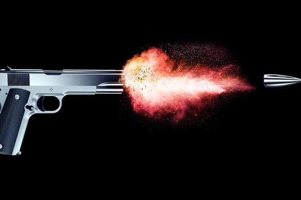 How far can a bullet fired from a handgun travel? © iStock