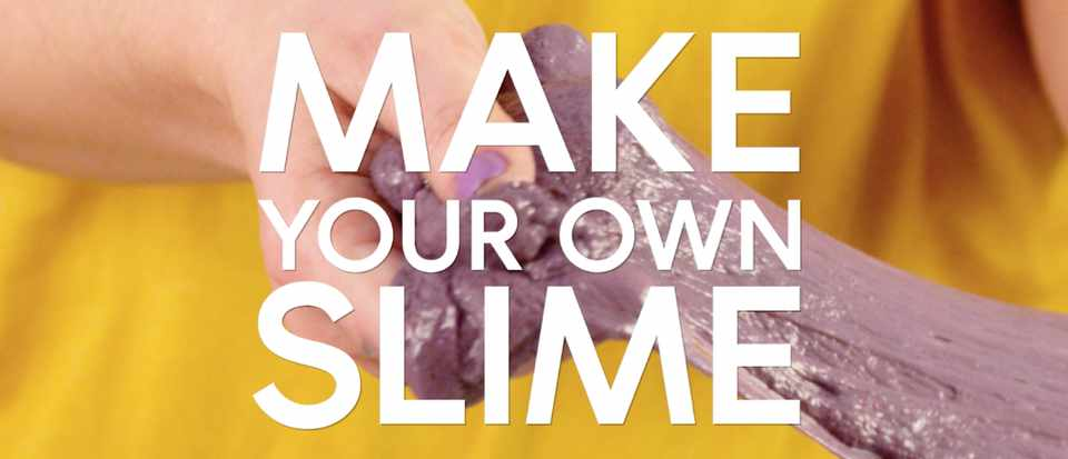 how to make your own slime science focus bbc focus magazine