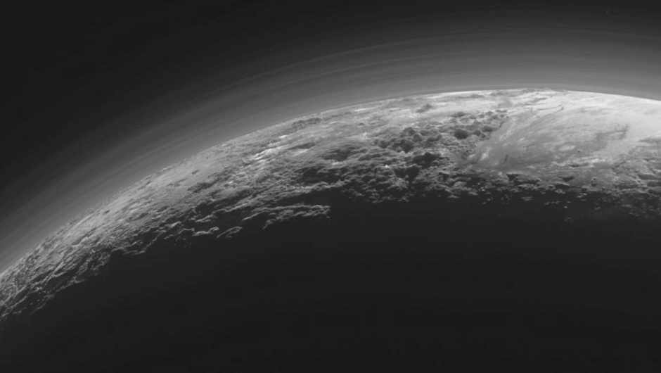 How bright is daylight on Pluto?