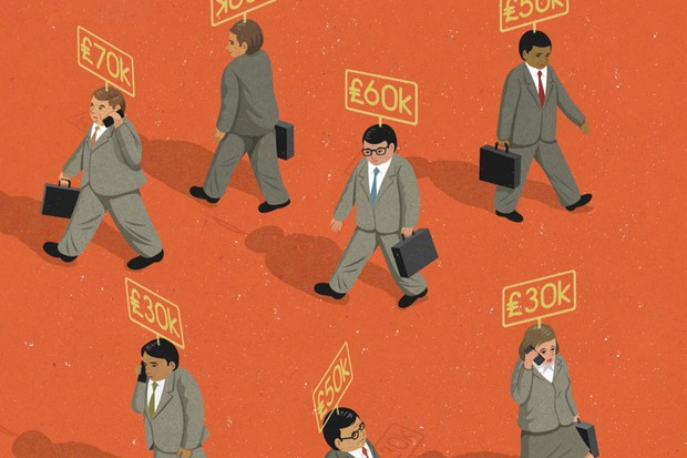 In the UK there's a 9.8 per cent median pay gap between men and women © John Holcroft