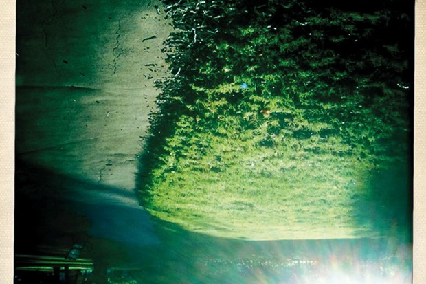 The upside-down image maybe disorientating, but your brain can still recognize the setting sun on a summer's evening.