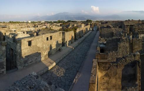 Pompeii today (credit: British Museum)