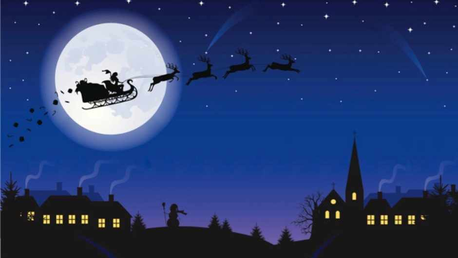 How fast would Father Christmas have to fly to visit every child in the world?