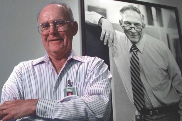 Gordon Moore, the co-founder of Intel, predicted the rate of growth in computing power that became known as Moore's Law back in 1965 © Shutterstock