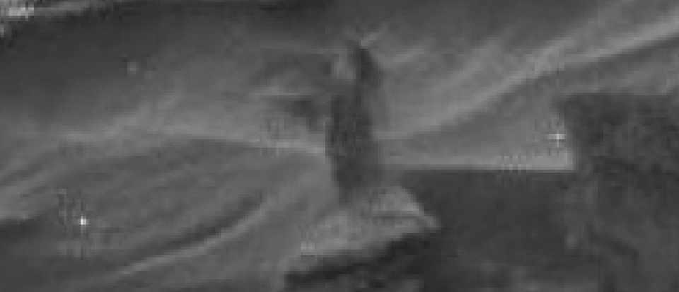 Dark woman of Mars spotted, sort of… © NASA